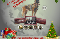 Australian War Dog coins make a great Christmas Present