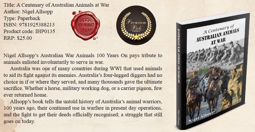 Australian War Animals CatalogueListing
